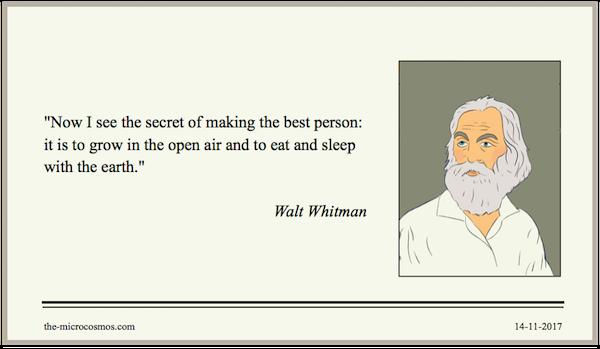 20171114 - Walt Whitman