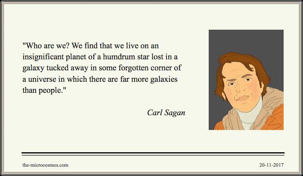 20171120 - Carl Sagan