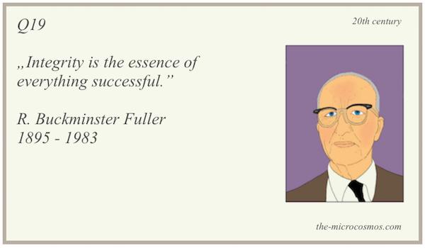 Q19 - R. Buckminster Fuller