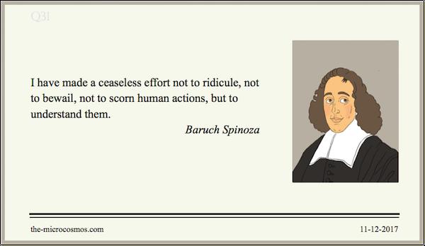 20171211:Baruch Spinoza:Ridicule