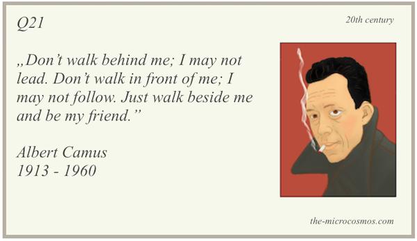 Q21 - Albert Camus