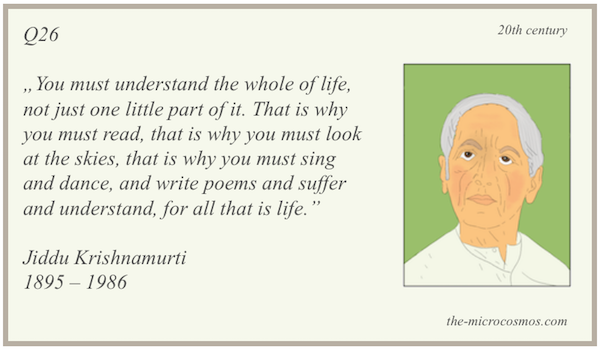 Q26 - Krishnamurti