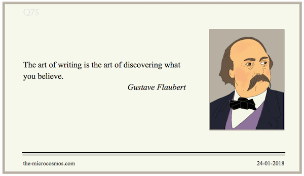 20180124:Gustave Flaubert:Writing.png