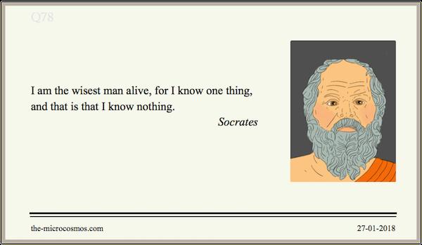 20180127:Socrates:Wisest