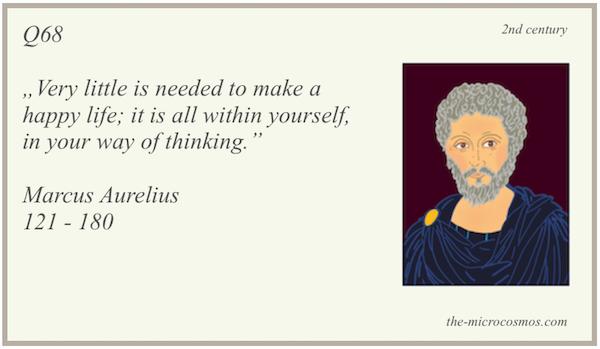 Q68 - Marcus Aurelius