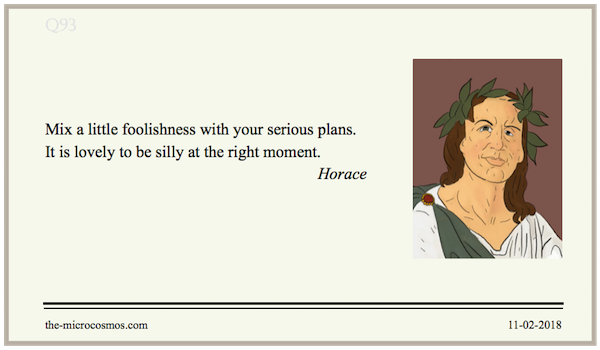 20180211:Horace:Foolishness