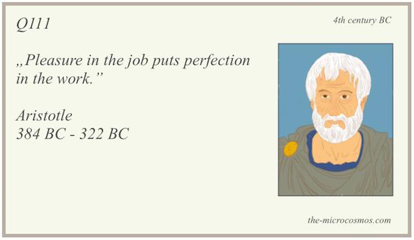 Q111 - Aristotle