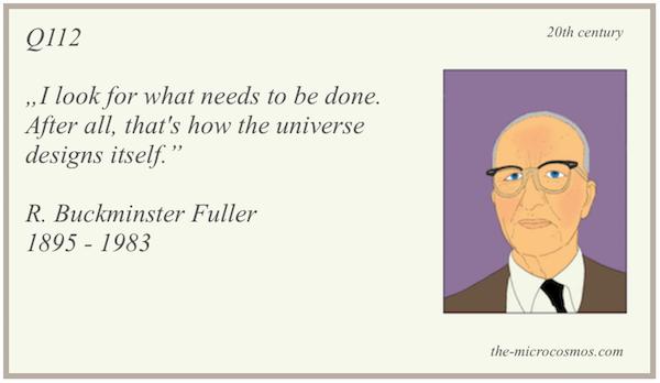 Q112 - R. Buckminster Fuller