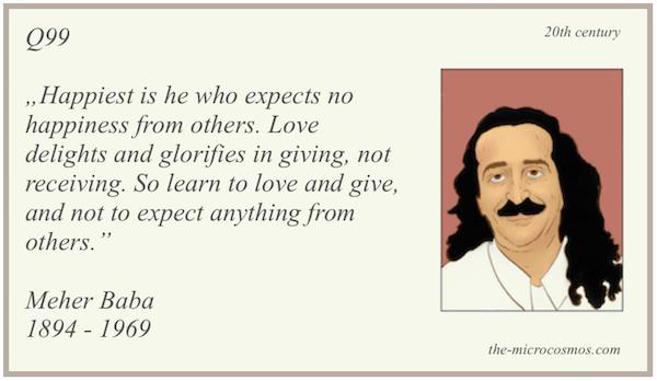 Q99 - Meher Baba