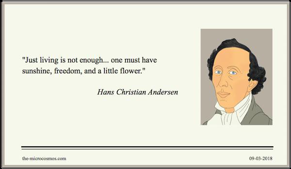 20180309 - Hans Christian Andersen